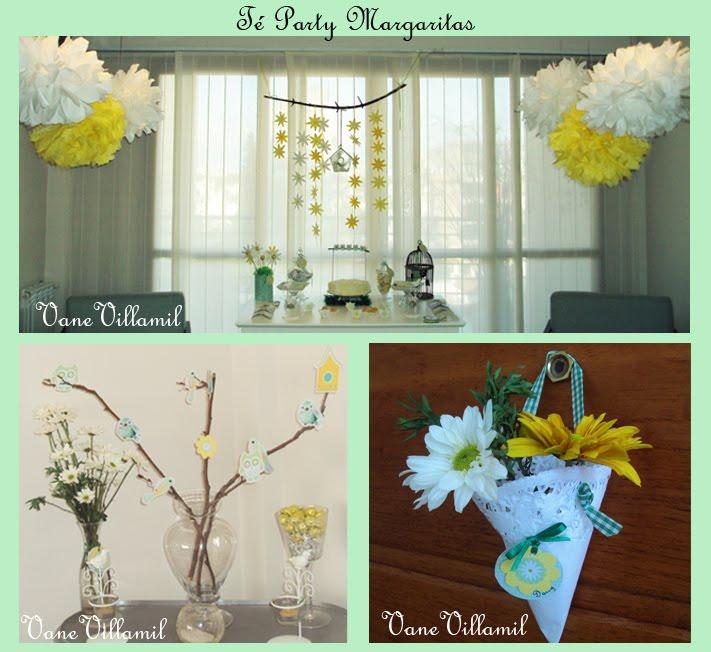 Cumple Lechuzas  y flores