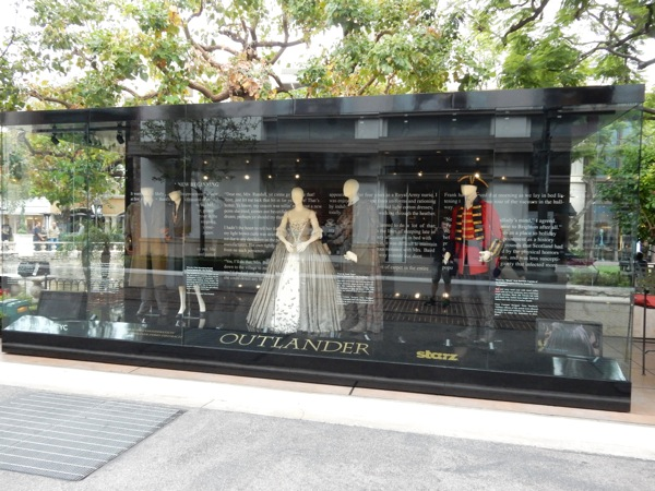 Outlander season 1 TV costume exhibit The Grove