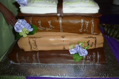 Book Cake Wedding Theme Sabriel Lord of the Rings Jane Eyre