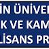 Özyeğin Üniversitesi Hukuk Yüksek Lisans Programı