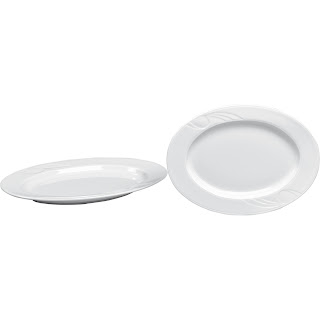 Platou Oval, Vesela Portelan, Pret, Serviciu de Masa, Portelan Alb, Vesela Restaurant