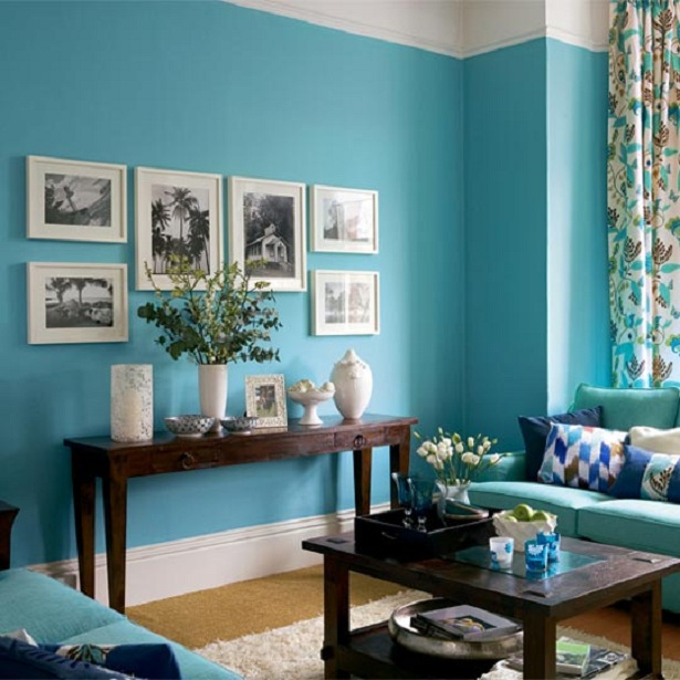 beautiful teal living room 01