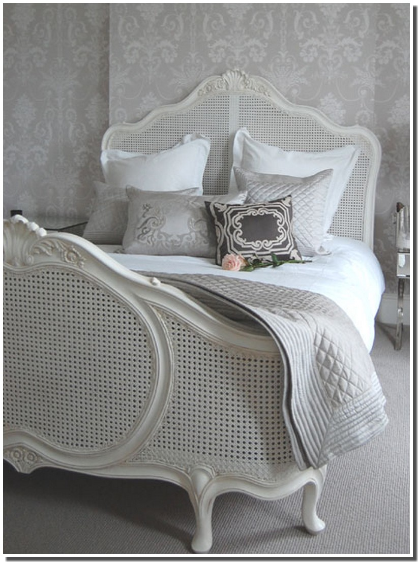 nassima home chambre et lit style shabby. Black Bedroom Furniture Sets. Home Design Ideas