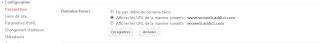 Google webmaster tools domaine