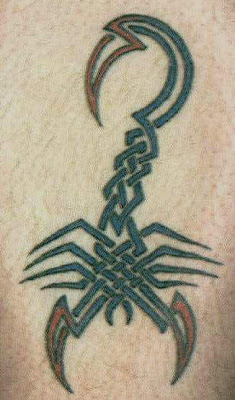 free design scorpion tattoo