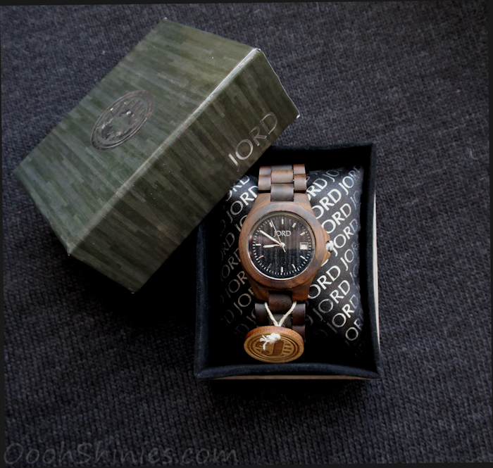 JORD Wood Watch Ely Black