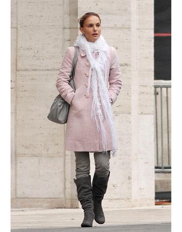 Natalie Portman   Winter Pastels