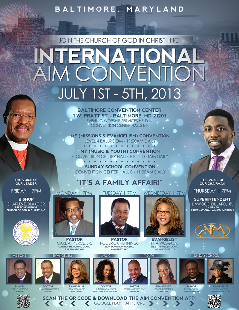 Church of God in Christ's AIM Convention