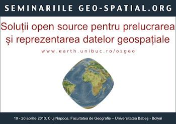 Soluții libere open source pentru prelucrarea și reprezentarea datelor geospațiale, Cluj-Napoca