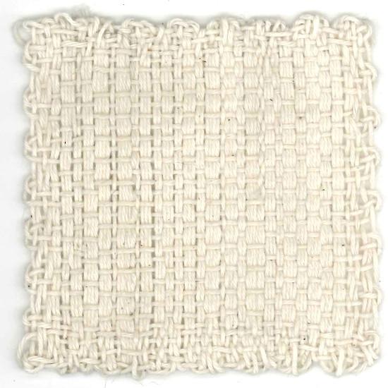 Woven cotton Zoom Loom square