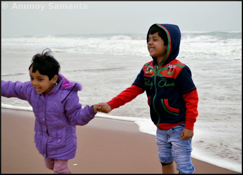Chandrabhaga Beachscape - I am not Afraid