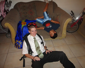 Elder Kinney and Luis