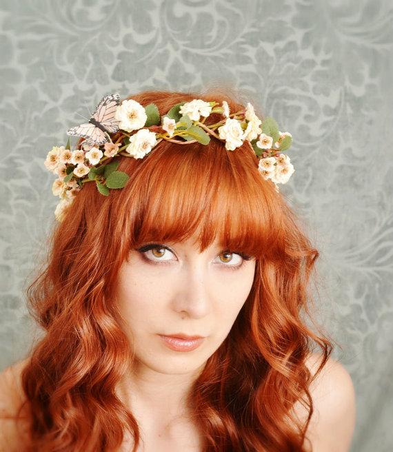 Peinados Para Coronas De Flores - Más de 1000 ideas sobre Pelo De Corona De Flores en Pinterest
