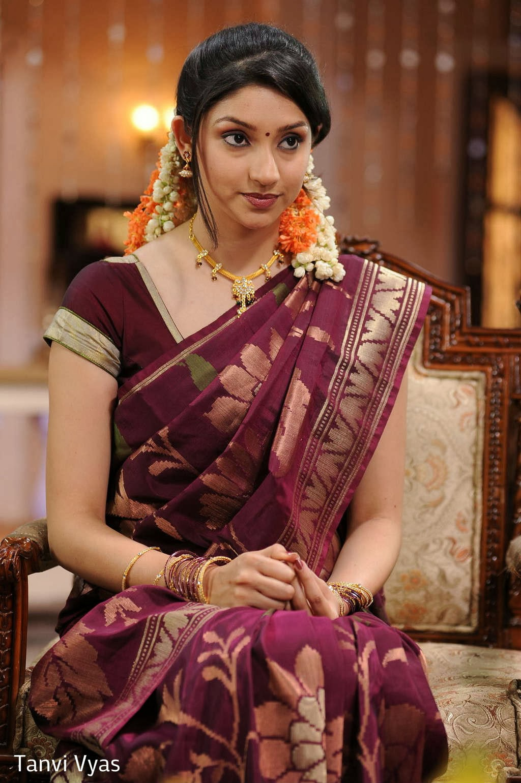 Tanvi Vyas in Beautiful Saree