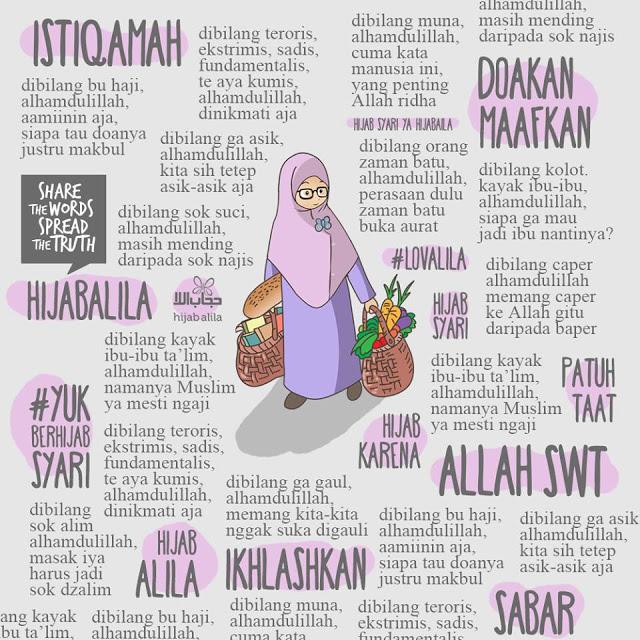 Balada Muslimah berhijab syar'i
