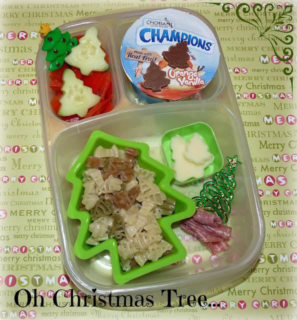 Christmas tree easylunchboxes bento