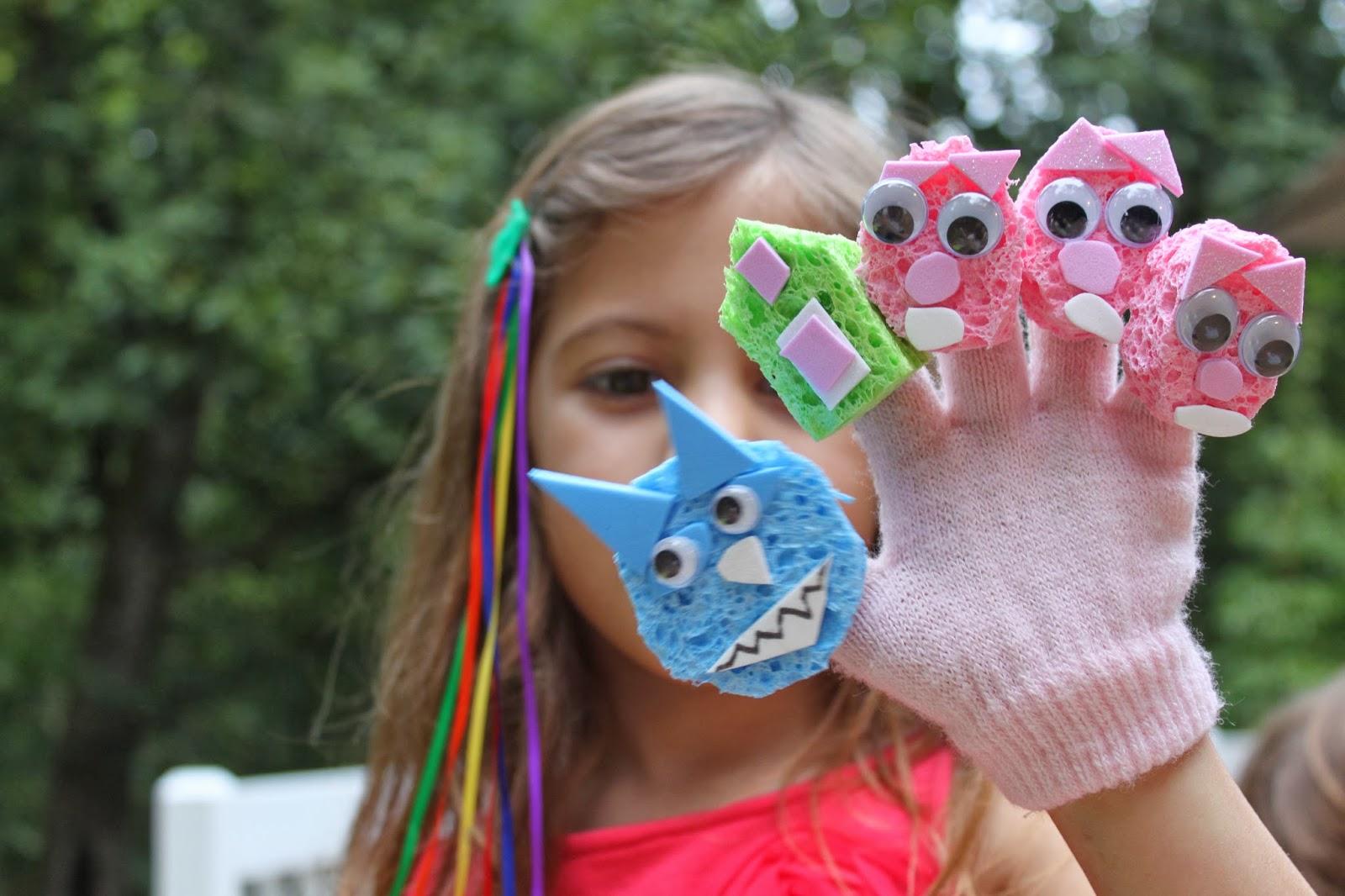 Поделки для кукол из губок своими руками