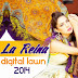 La Reina Digital Lawn 2014 By Shariq Textile | La Reina Lawn Prints 2014