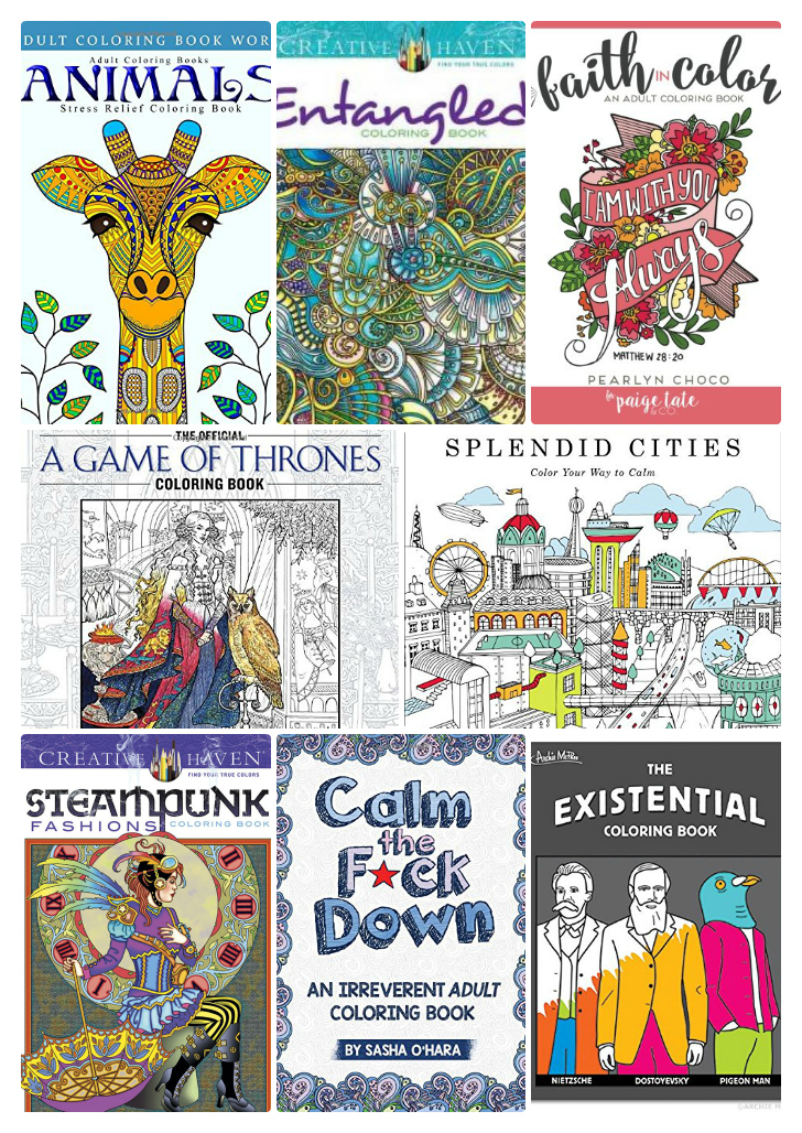 Unusual Best Coloring Books For Adults Tall Blue Is The Warmest Color Book Clean Giant Coloring Books Coloring Book App Youthful Gangsta Rap Coloring Book WhiteBible Coloring Book Adult Coloring Books   Relax And Get Creative | Everything Pretty