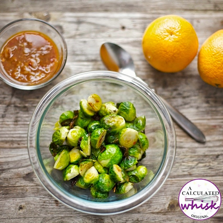 Orange-Glazed Brussels Sprouts | 10 Paleo Recipes for Summertime Celebrations on acalculatedwhisk.com