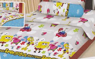 Sprei Fairmont SpongeBob