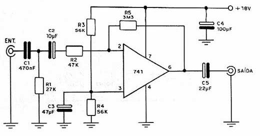 circuito integrado 741