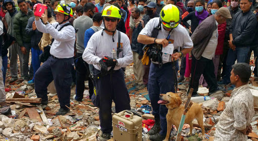 FINDER device deployed in Nepal