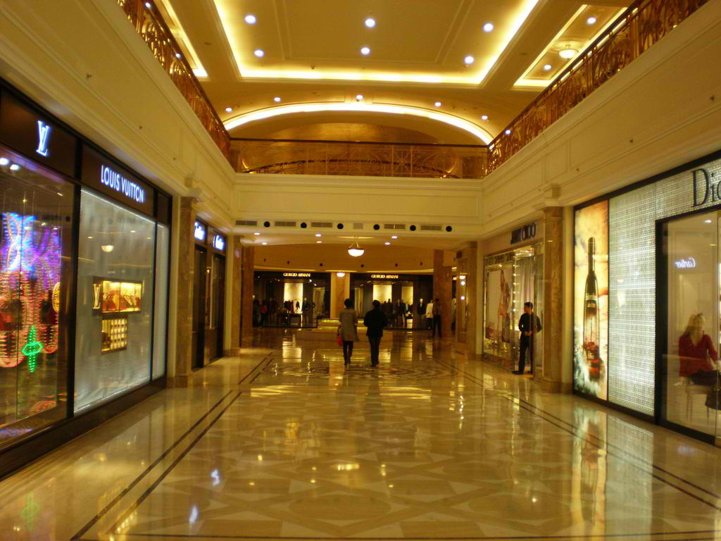Inside The DLF Emporio Shopping Center In New Brand India