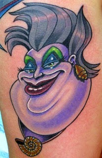 Ursula - Disney Villain Tattoo