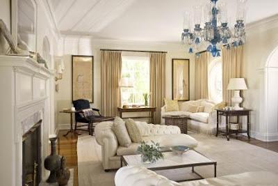 sala moderna colores tierra