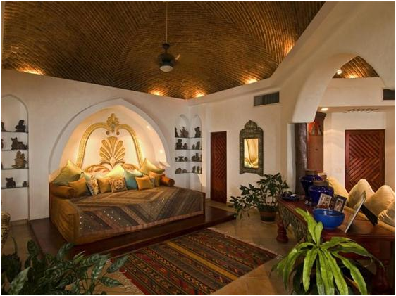 moroccan bedroom design ideas