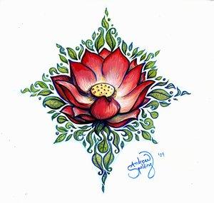 lotus tattoo designs on Tribal lotus tattoo images