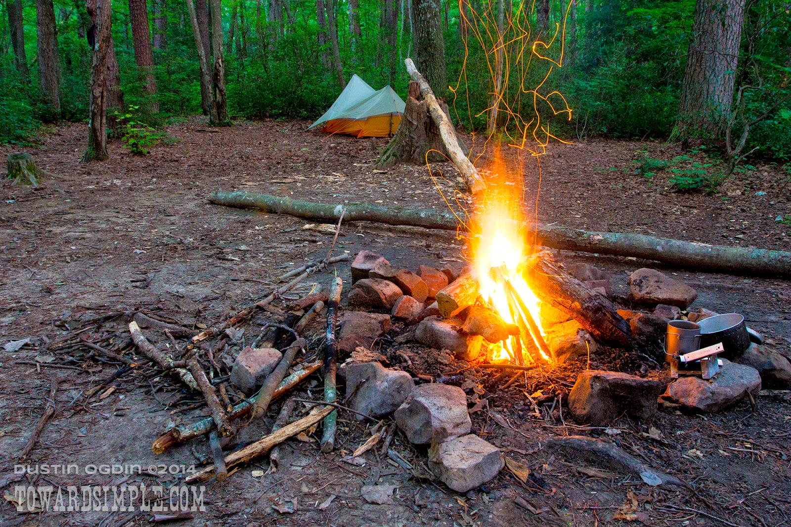 Savage Gulf campfire