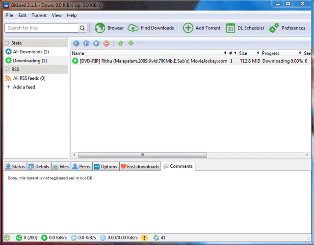 increase torrent download speed for bitlord