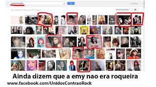 Pesquisando artista drogada no Google, aparece Amy Whinehouse