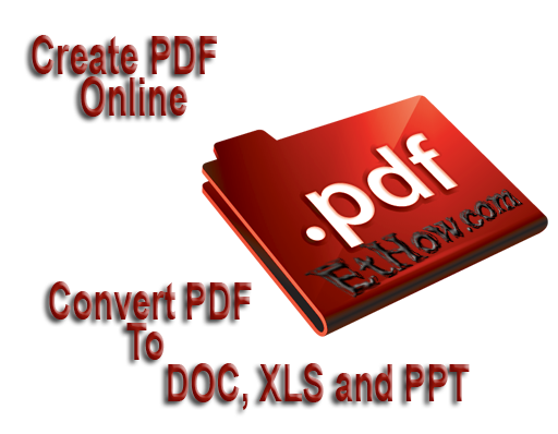 Create and convert PDF files online
