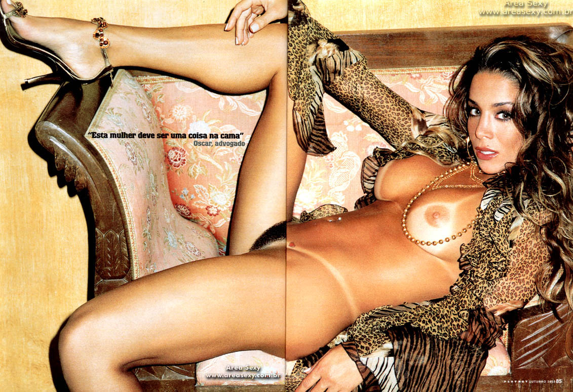 Danielle Winits Nua Na Playboy De Outubro Fotos Pelada