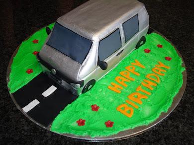 VW Combi Cake