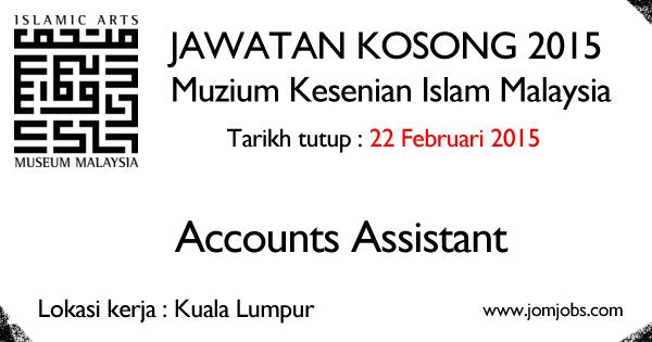 Jawatan Kosong Muzium Kesenian Islam Malaysia 2015 Terkini