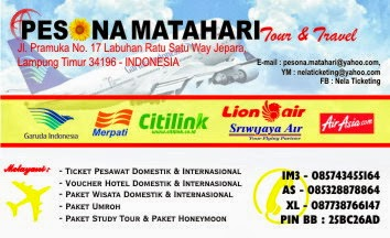 PESONA MATAHARI Tour & Travel