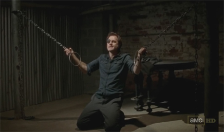El Gobernador en The Walking Dead 3x14 - Prey