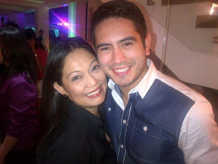 Maricel Soriano and Gerald Anderson