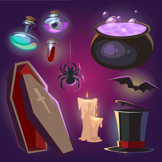 Elementos de Halloween 2