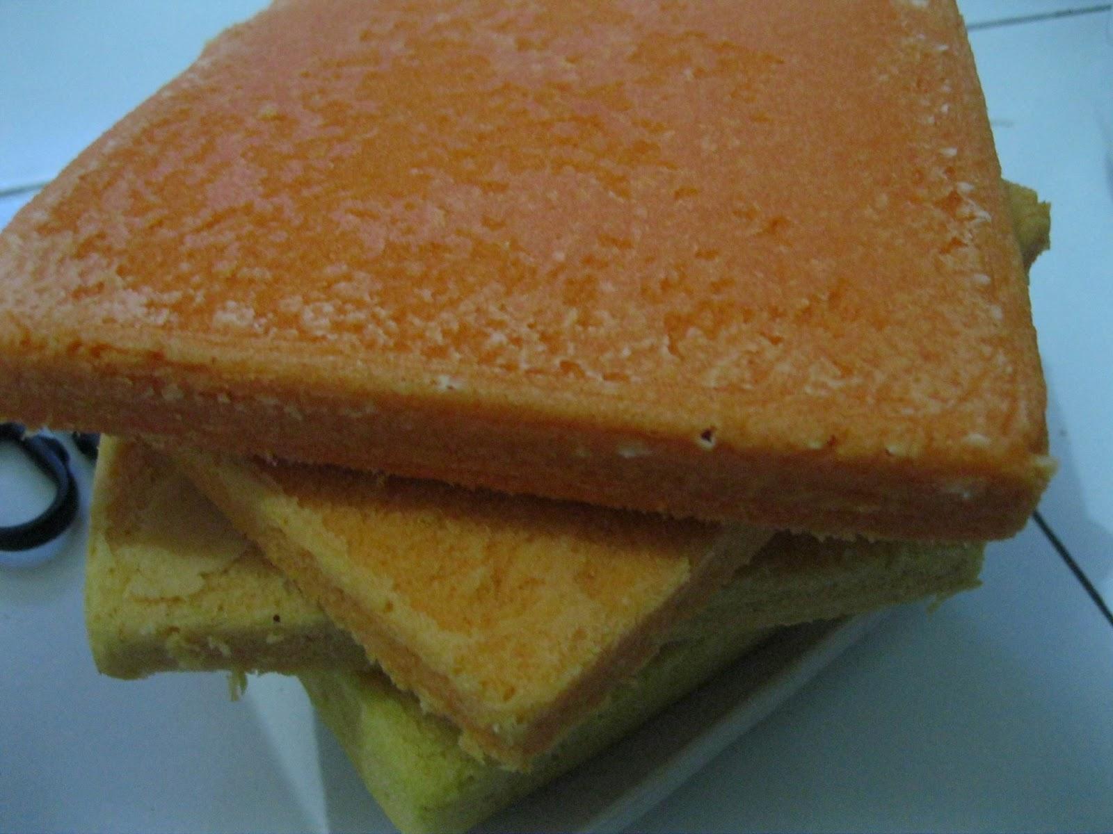 Resep Ombre Cake Kukus Enak