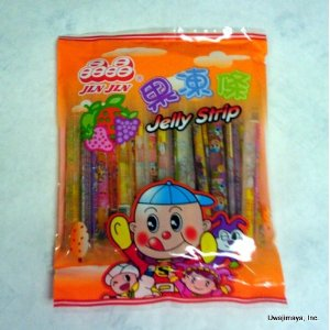 Jelly straws, Jelly candy from China
