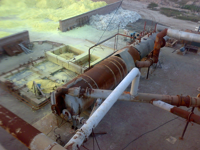 Sulfuric Acid Plant in Pakistan Zamindar Chemical 100 Metric ton daily production by contact process single absorption, between chiniot and faisalabad, near madina sugar mill, image by irfan ahmad plant operator