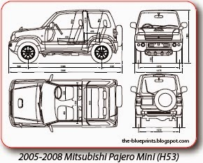 Vector blueprints cars trucks busses and others mitsubishi httpautomotive blueprints malvernweather Images