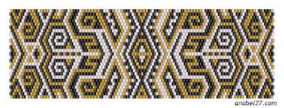 peyote pattern beading free bracelet beadwork схемы бисерогплетения