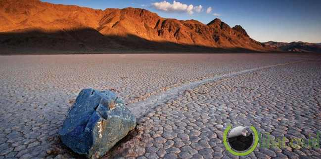 Racetrack Playa, Death Valley, California, Amerika Serikat
