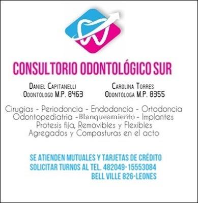ESPACIO PUBLICITARIO: CONSULTORIO ODONTOLÓGICO SUR